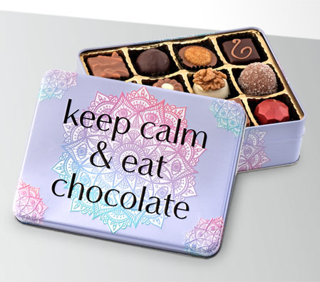 Keep Calm N Eat Chocolate Gift Box - 150g