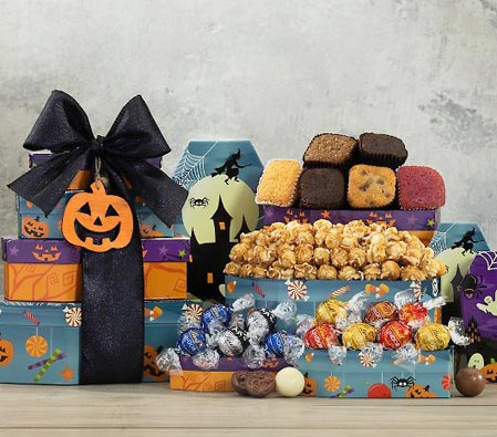 Lindt Chocolate and Brownie Halloween Gift Hamper