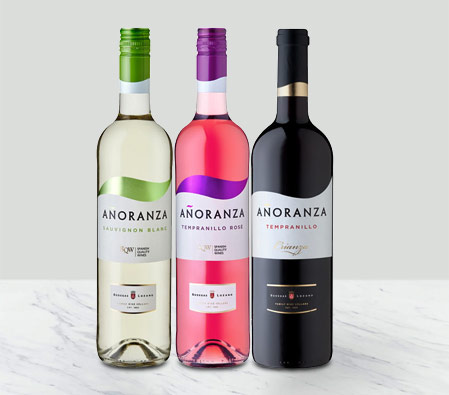 Sunny Spanish Wines - 3 Bottles