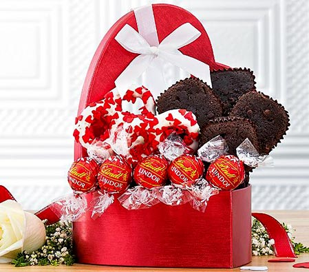 Valentine Truffles and Brownies