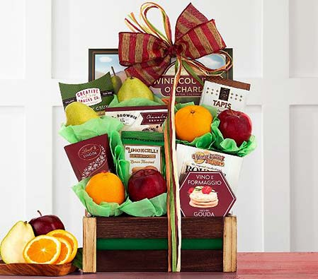Fresh Fruit & Gourmet Snacks