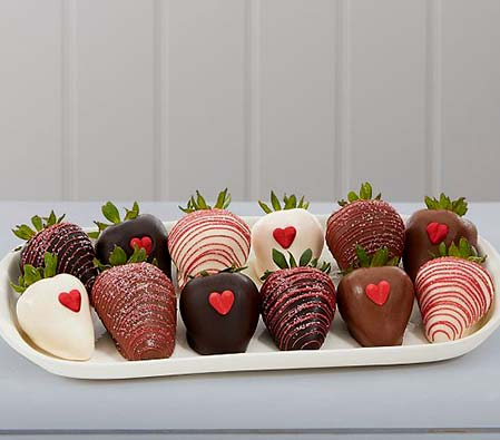 Chocolate Dipped Strawberries (12pcs)