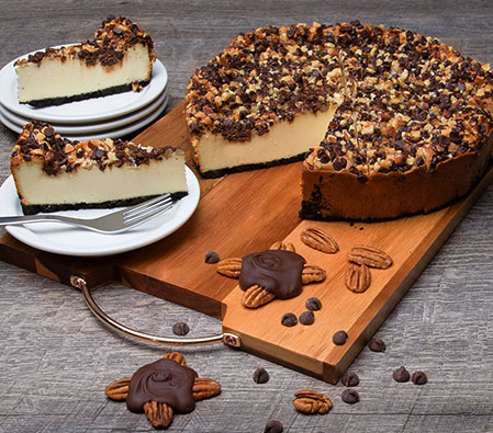 Turtle Cheesecake