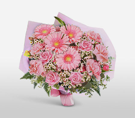 In The Pink Bouquet<br><font color=red> Sale $10 Off</font>