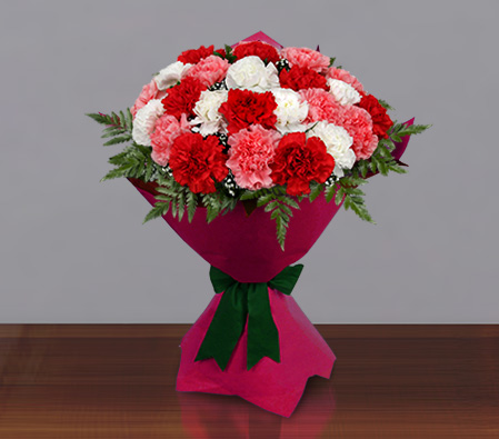 Carnations All Over <Br> <Font Color=Red> Sale $5 Off!</Font>