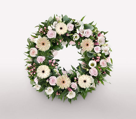 Sleep In Peace-Wreath,Sympathy
