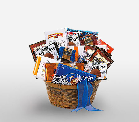 Grand Chocolate Hamper-Gourmet,Chocolate,Basket,Hamper