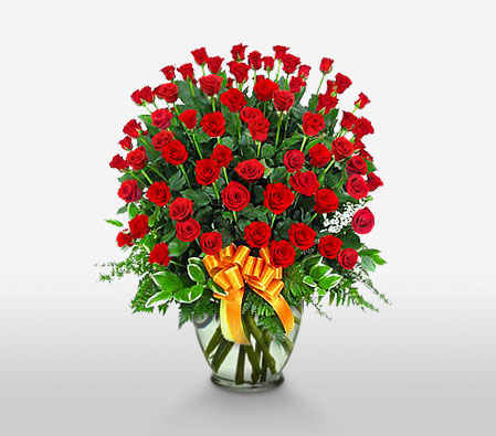60 Red Roses <Font Color=Red>Sale! $10 Off</Font>