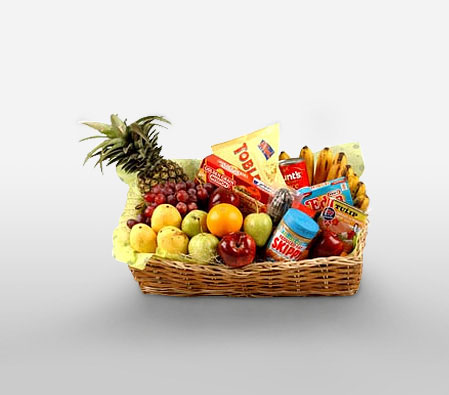 Food Hamper With Fruits