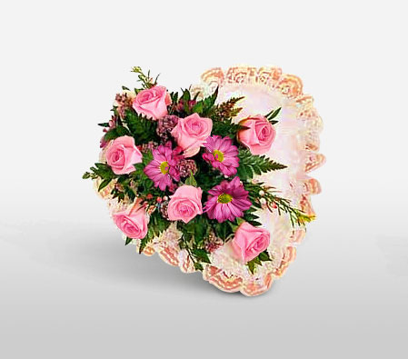 Blessed Heart - Condolence Arrangement-Sympathy