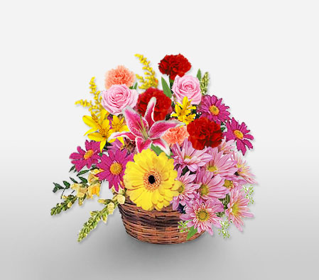 Assortment Of Mixed Flowers
