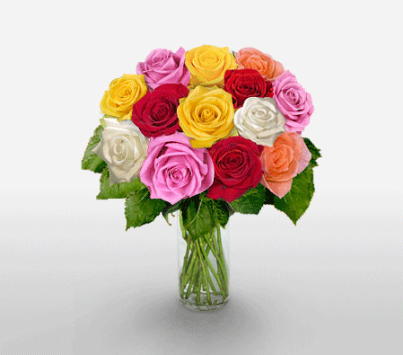 Royal Attico <Br><Font Color=Red>One Dozen Roses</Font>