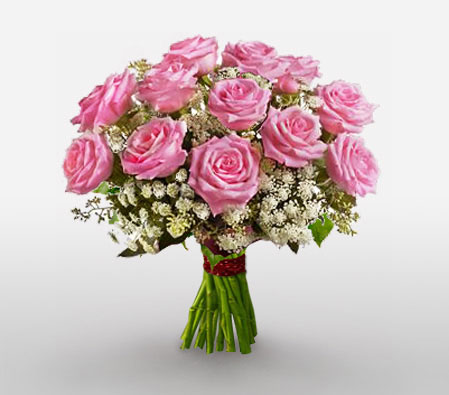 Charming <Br><span>Luxury Pink Roses - Sale 15% Off</span>