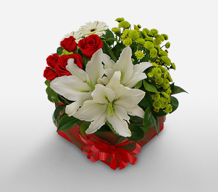 Meili Flowers <Br><Font Color=Red>Mixed Flowers Arrangement</Font>