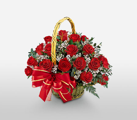 Lovely Red Roses <Br><Font Color=Red>Two Dozen Roses</Font>
