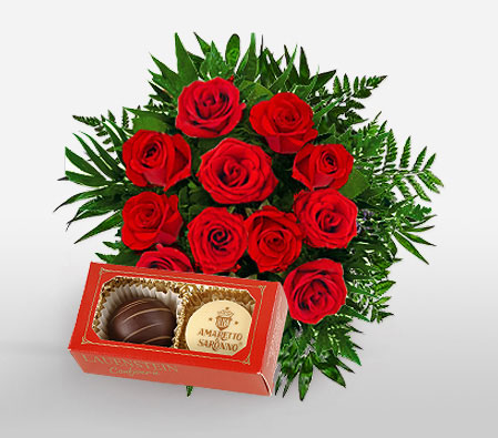 Roses n Chocolates Combo