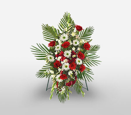 Sincere Condolences Floral Spray