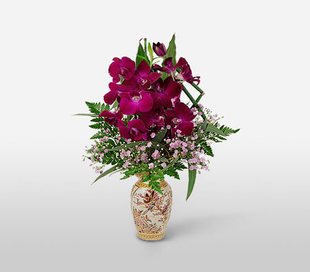 Orient Express <Br><Font Color=Red>Orchids in Vase - Sale $30 Off</Font>