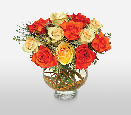 Moon Roses <Br><Font Color=Red>Complimentary Vase </Font>