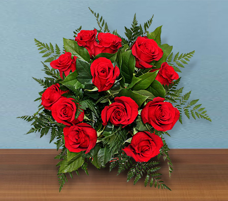 Sparkling Rubies <br> <font color=red> 12 Roses and 6 FREE</font>