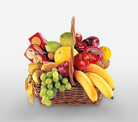 Royal Gift Hamper-Fruit,Gourmet,Basket,Hamper