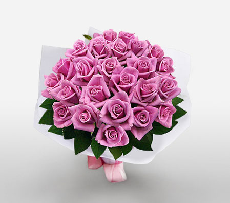 Lavish Love - 24 Pink Roses