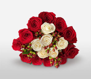 Dreamy Calm <Br><Font Color=Red>18 Roses</Font>