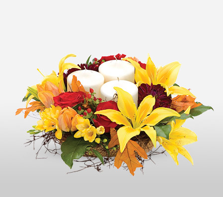Fall Frolic Centerpiece