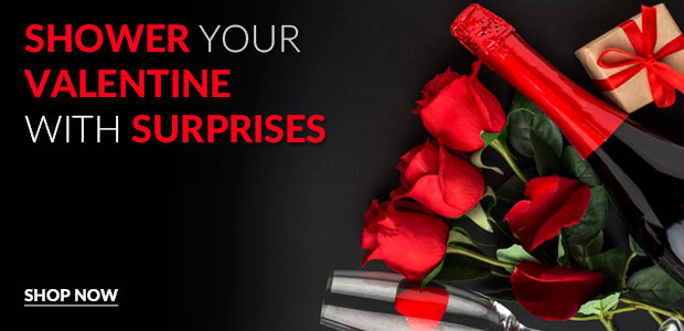 Valentine Flowers, Gifts, and Combos